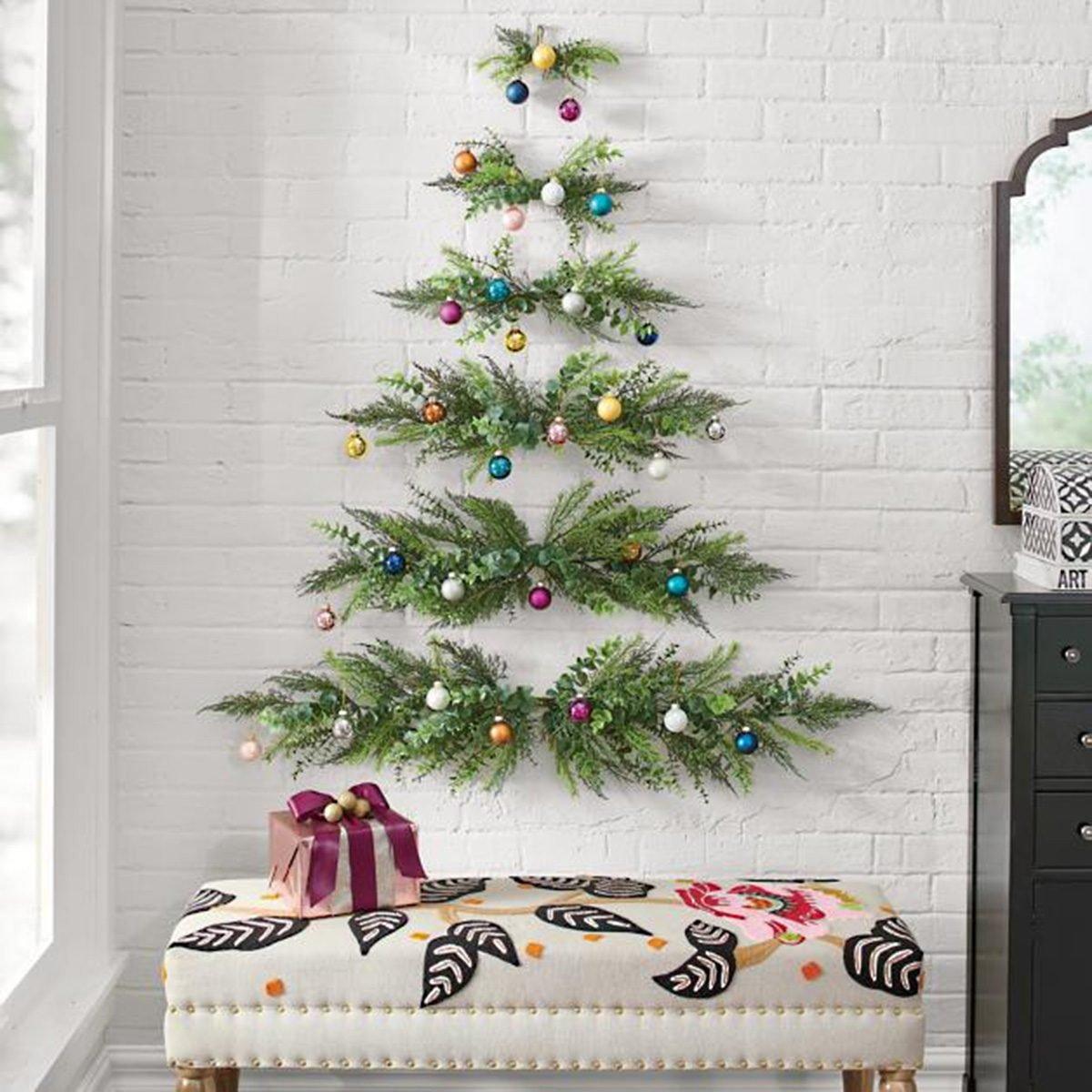 22 Fun And Festive Alternative Christmas Trees Taste Of Home