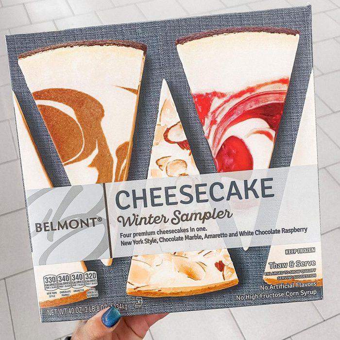 Aldi cheesecake winter sampler