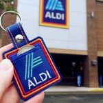 You Can Now Buy an Aldi Coin Purse Keychain—So You'll NEVER Forget Your Quarter Ever Again