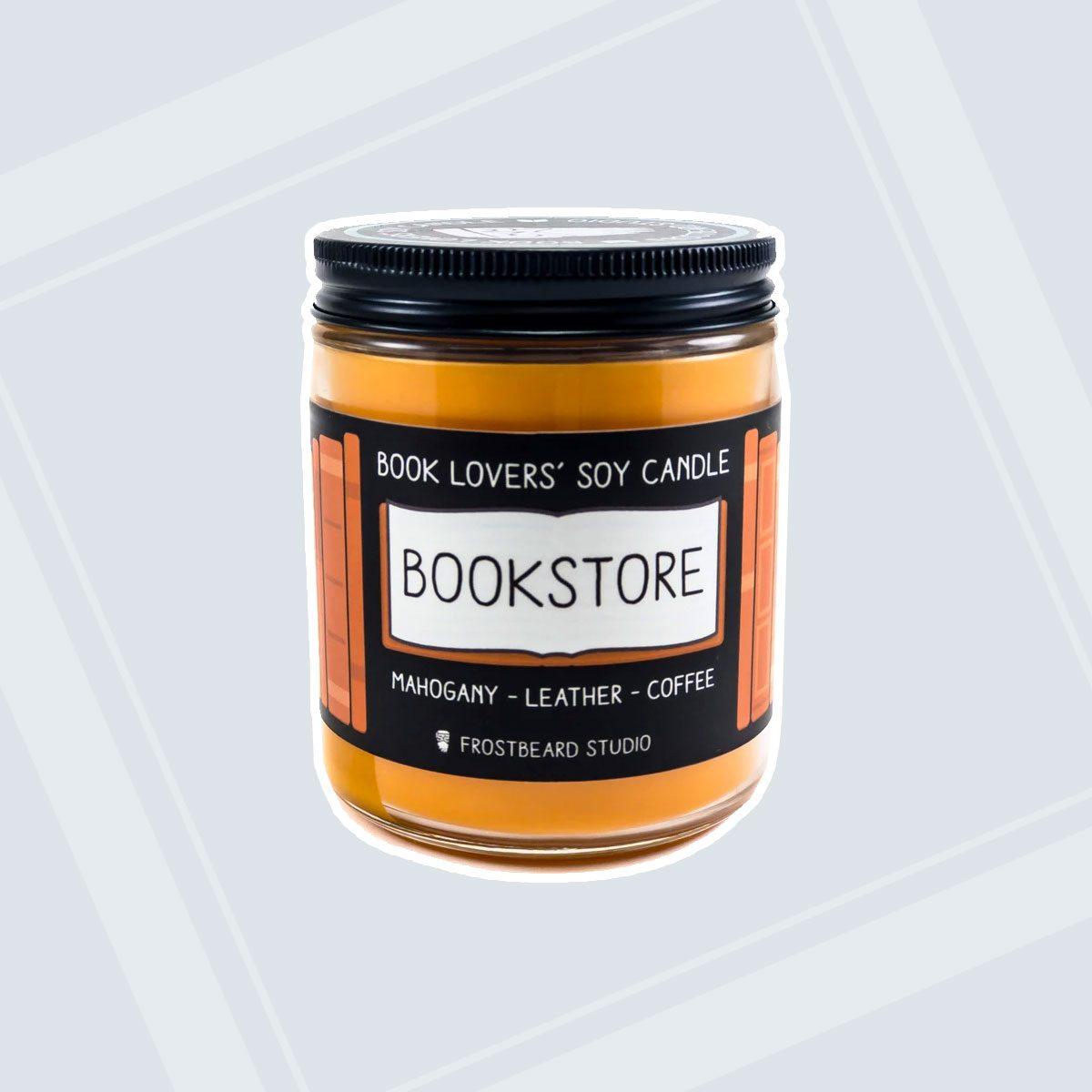 Frostbeard Studio Bookstore Candle