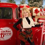 Cracker Barrel Is Giving Away a Dolly Parton Prize Pack—Including a PINK Rocking Chair