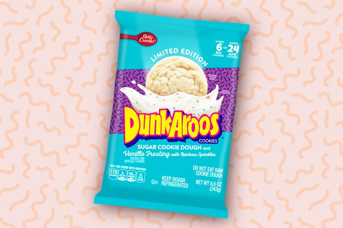 limited edition Dunkaroos sugar cookie dough and frosting