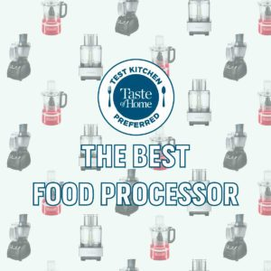 The Best Food Processors, According to Our Test Kitchen