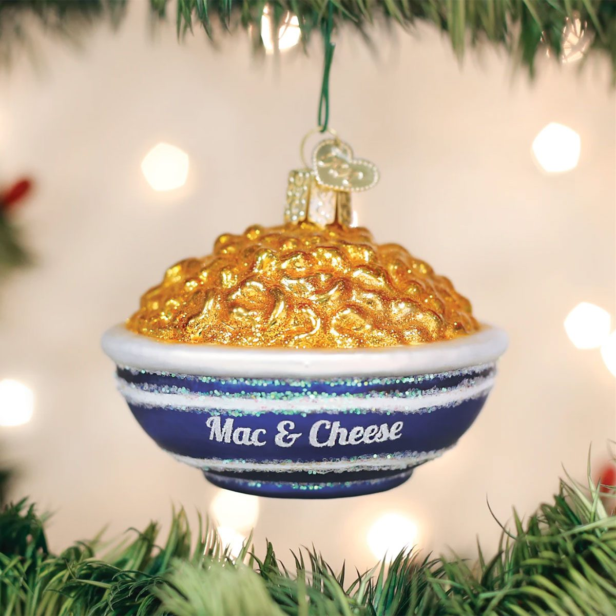 Bowl of Mac and Cheese Ornament