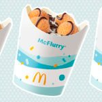 McDonald's Is Selling a NEW Doughnut Ball McFlurry Topped with Fudge Drizzle