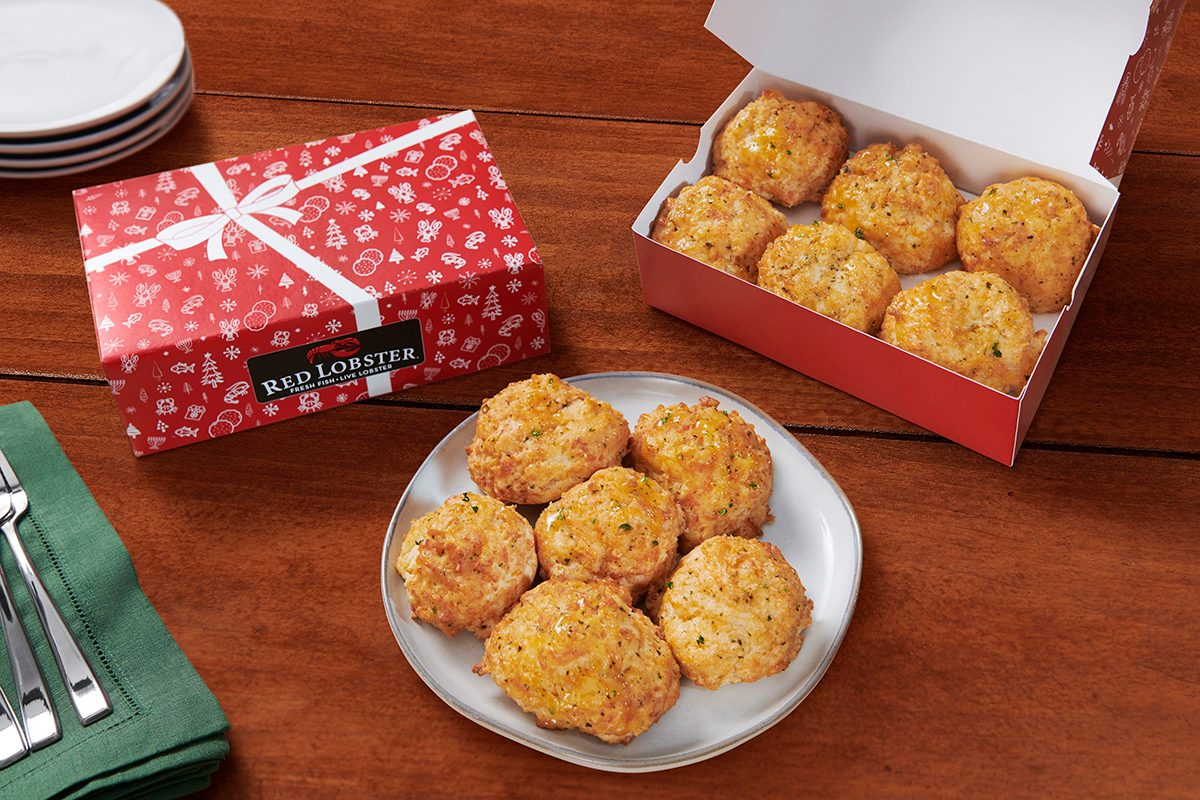 Red Lobster Holiday Biscuit Box