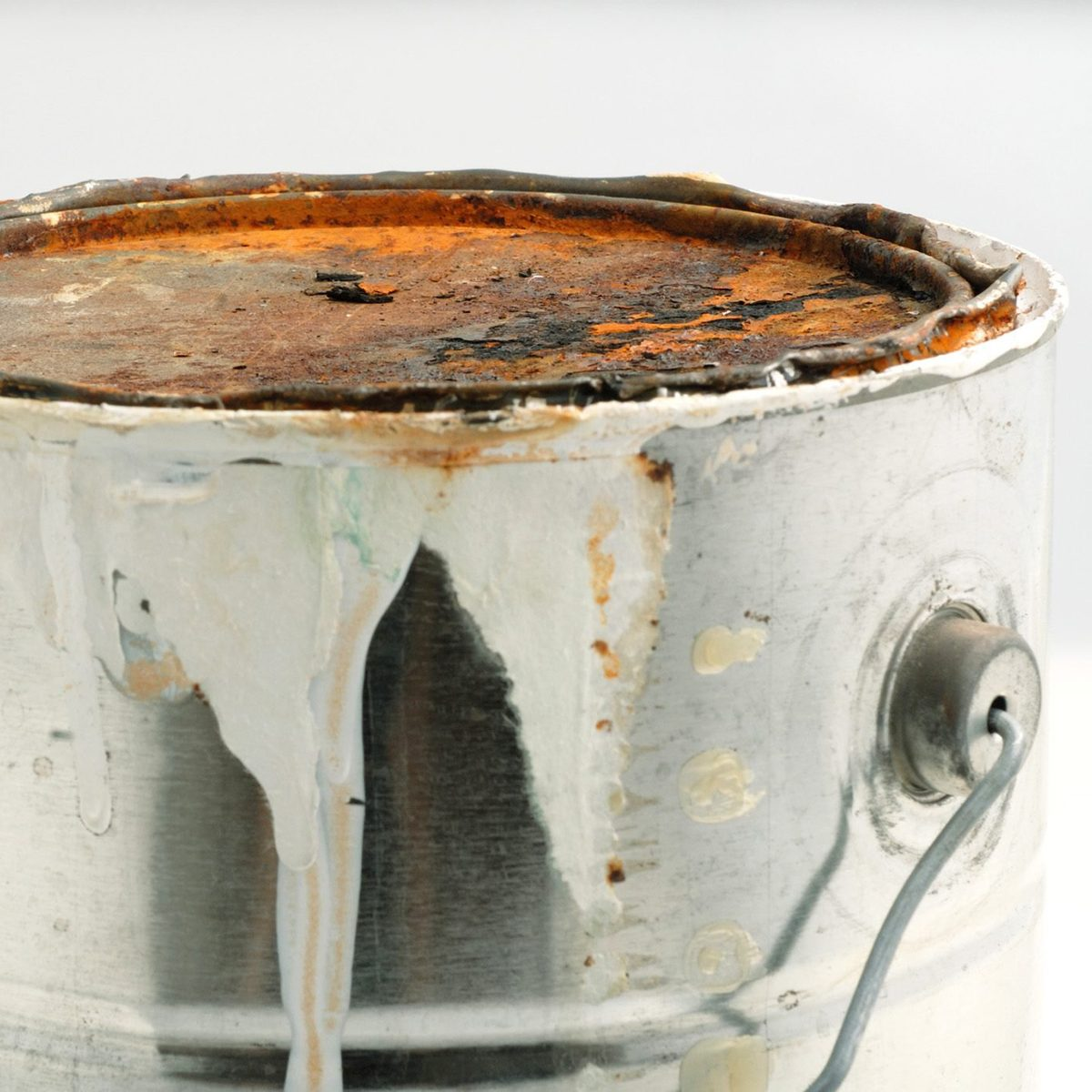 Paint can Close up