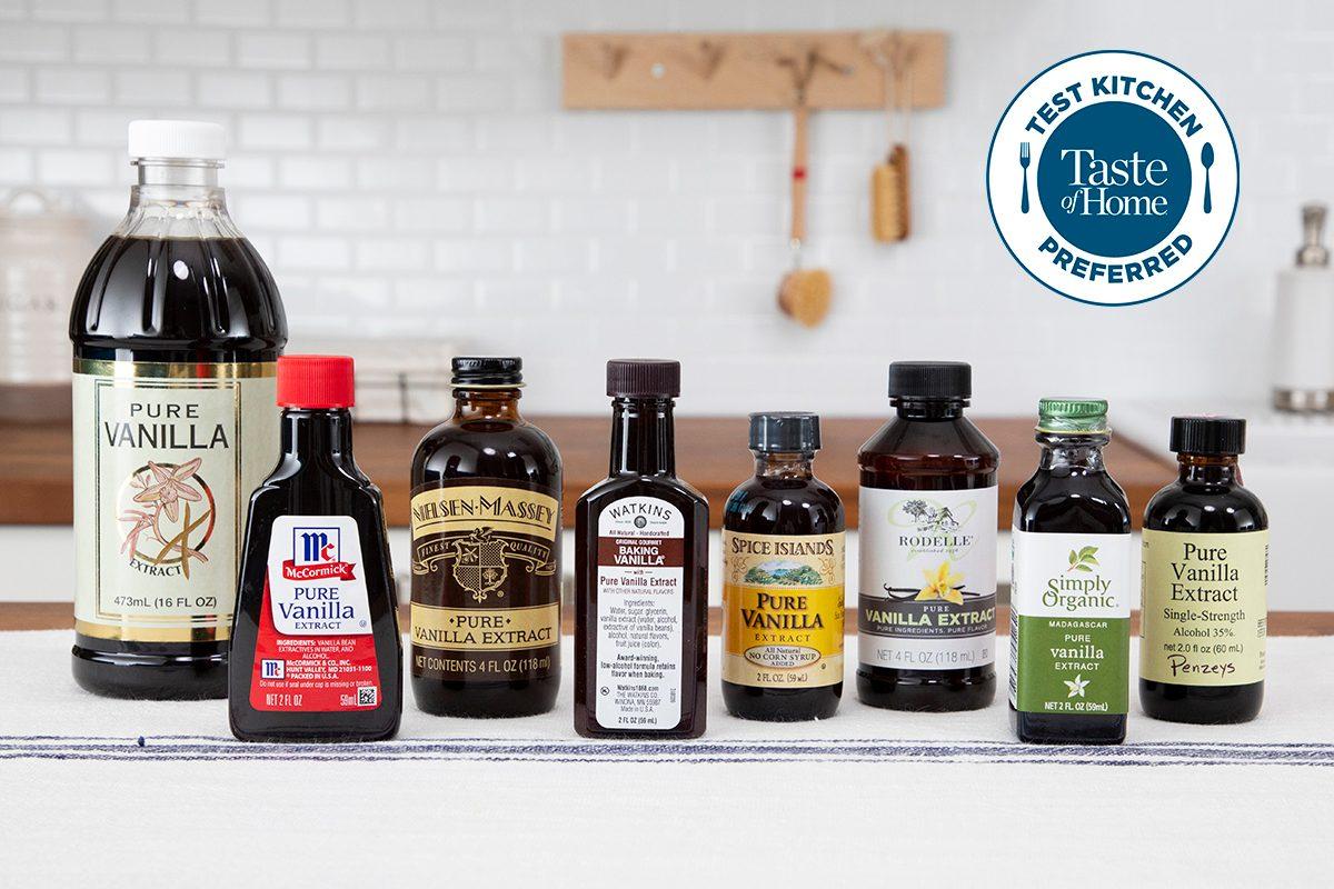 Test Kitchen Preferred the best vanilla extract crop