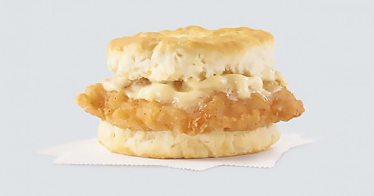 Wendy's Is Giving Away FREE Honey Butter Chicken Biscuits All November Long—Here's How to Claim Yours