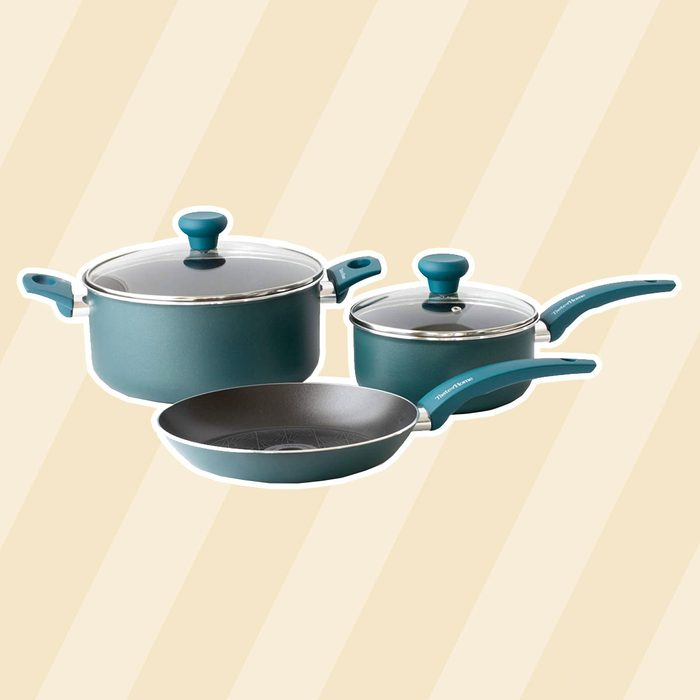 Taste of Home 5-Piece Non-Stick Aluminum Cookware Set - christmas gifts for mom