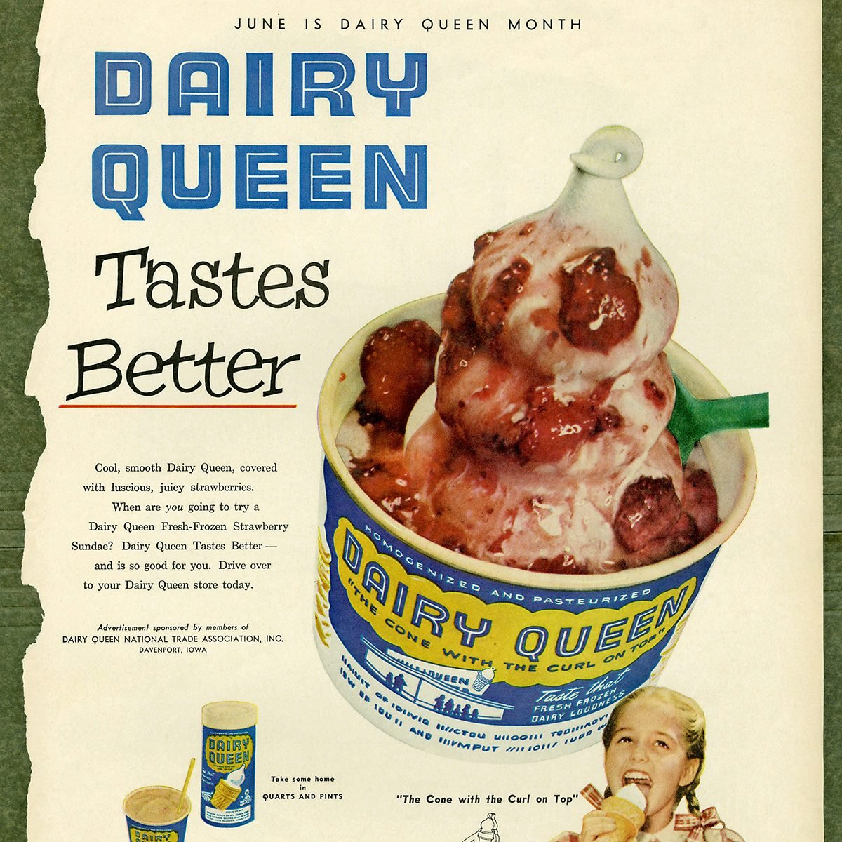 dairy queen blizzard ad