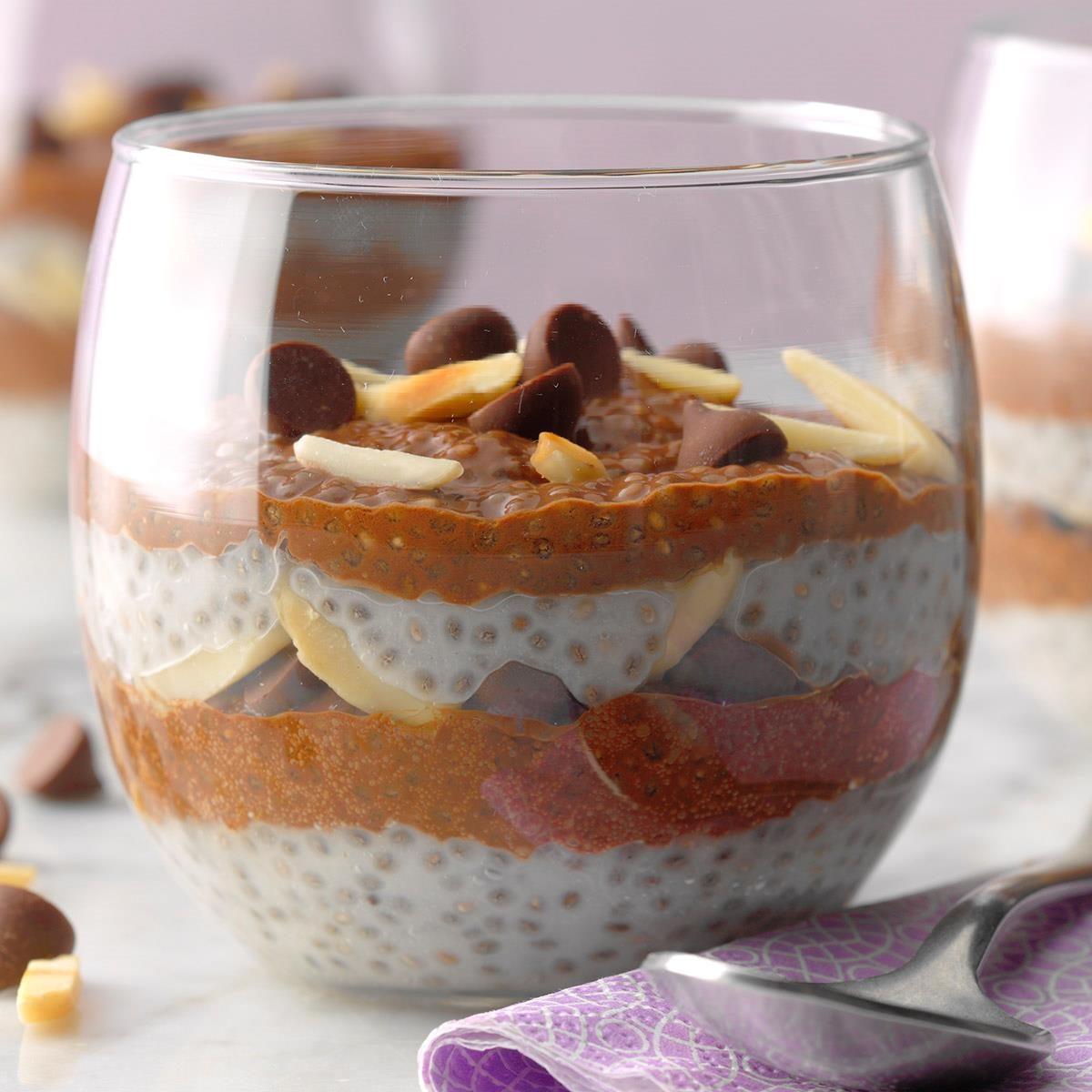 Most Innovative: Easy Almond Joy Chia Pudding