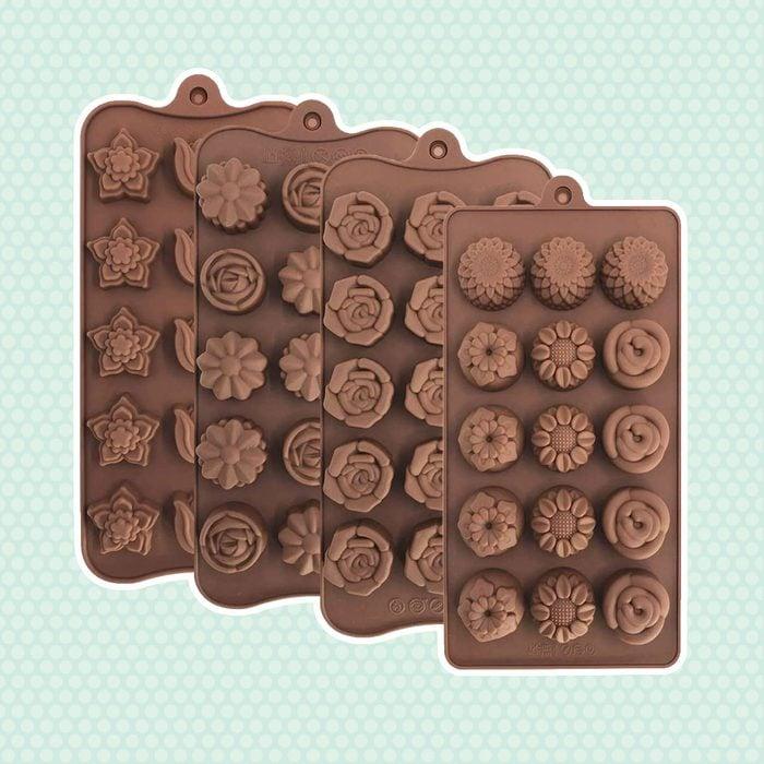 DIY Silicone Chocolate Pot Melting Mold Sauce Baking Pouring Heat Cake Tools