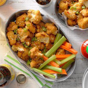 Sticky Sesame Cauliflower