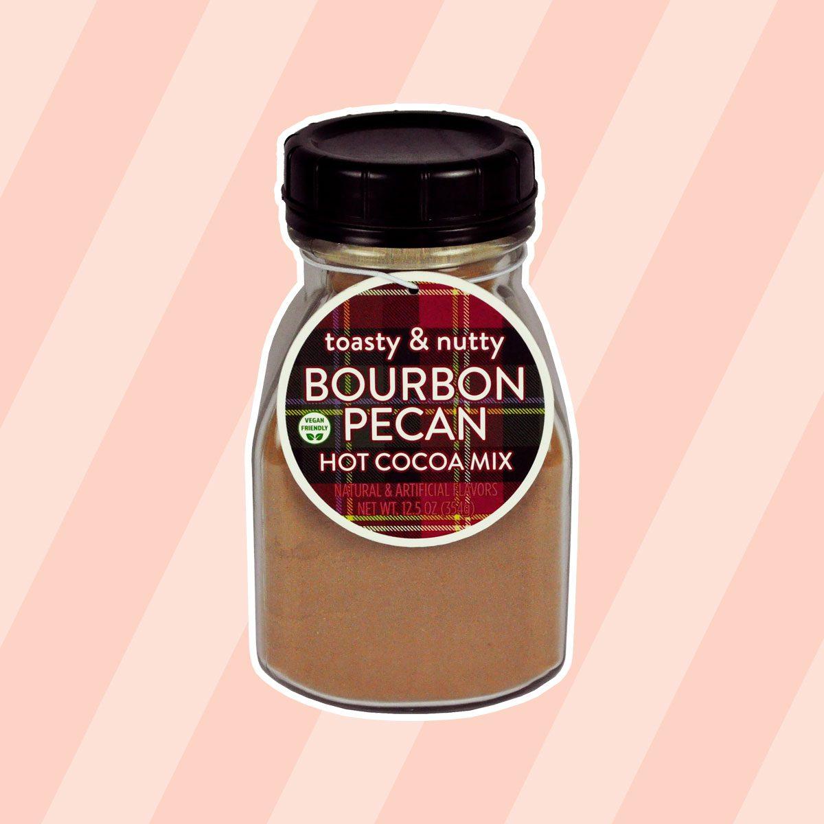 Toasty & Nutty Bourbon Pecan Hot Cocoa Mix Jar