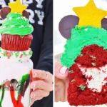 Disney Is Selling a Cookie Butter Milkshake Topped with a Whole Cupcake