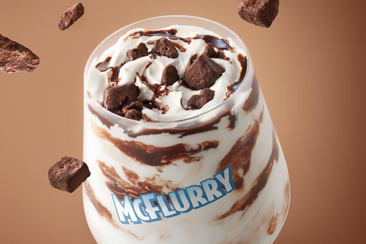 McDonald's Chocolate Brownie McFlurry™