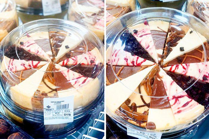 Sam's Club cheesecake sampler