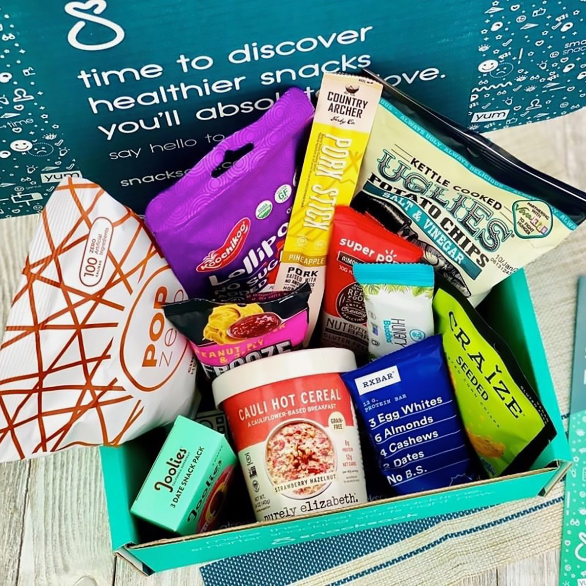 Snacksack subscription box