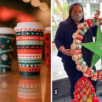 You Can Make a Holiday Wreath Out of Starbucks Cups, and the Result Is So Cute