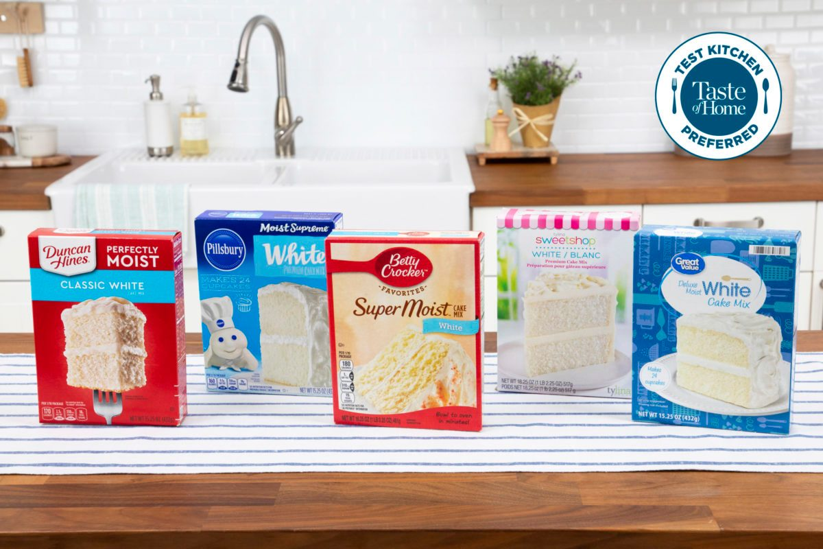 Test Kitchen Preferred the best white cake mix