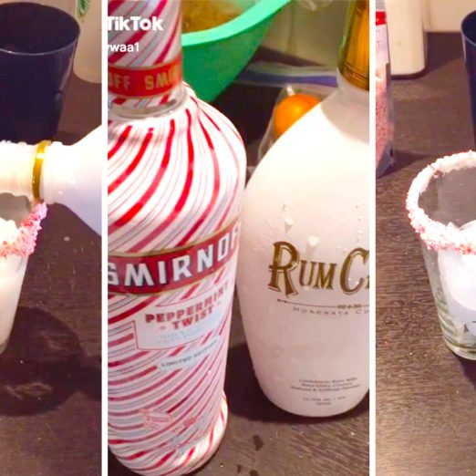 This Viral Video Shows You How to Make the Perfect Peppermint Holiday Cocktail
