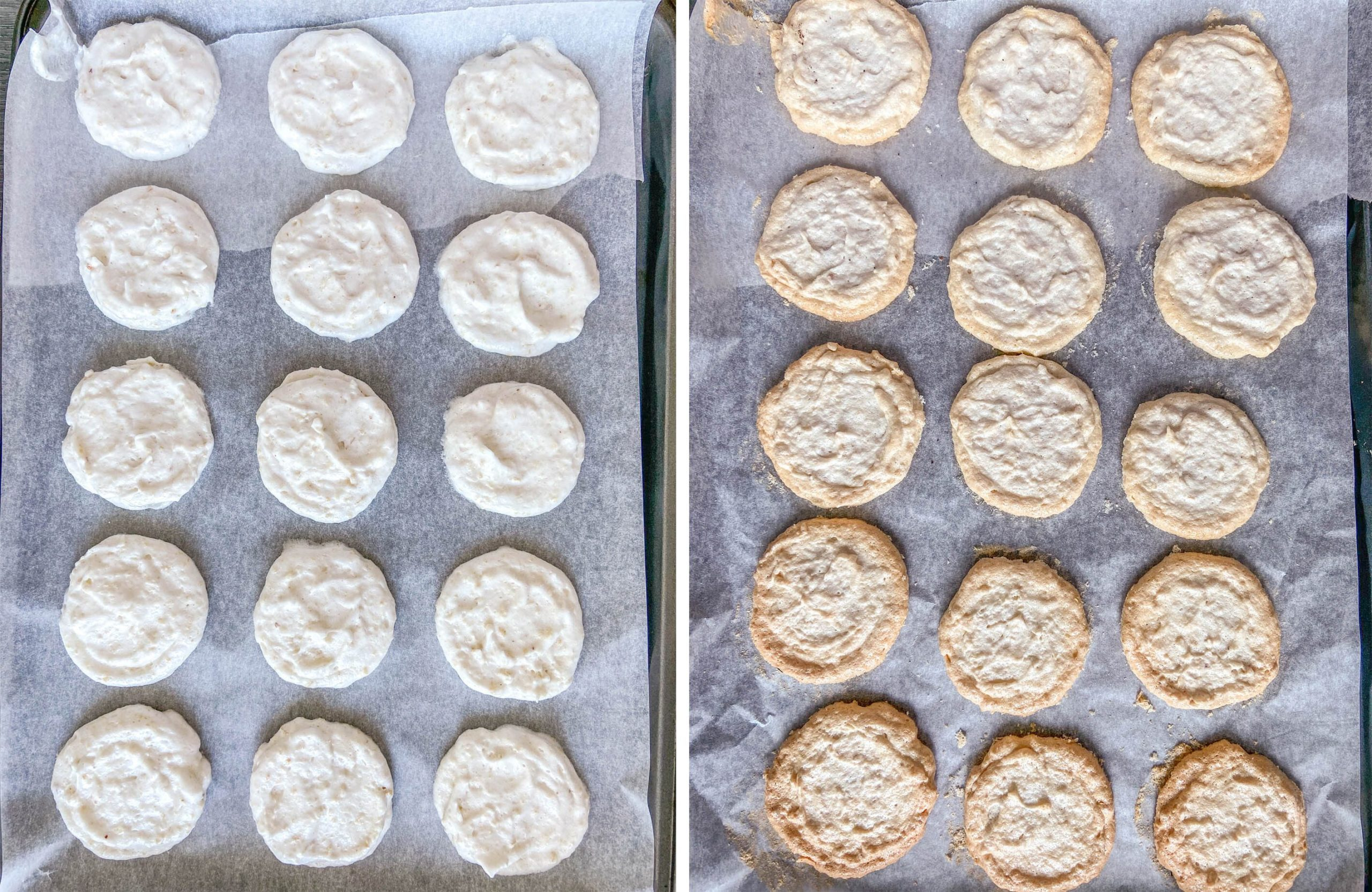 Silvanas cashew meringue step 5