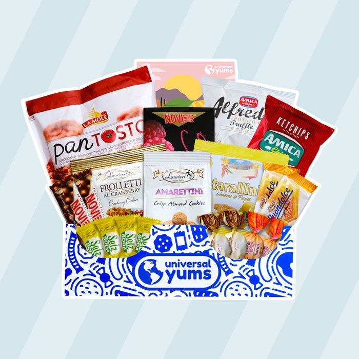 Universal Yums snack subscription box