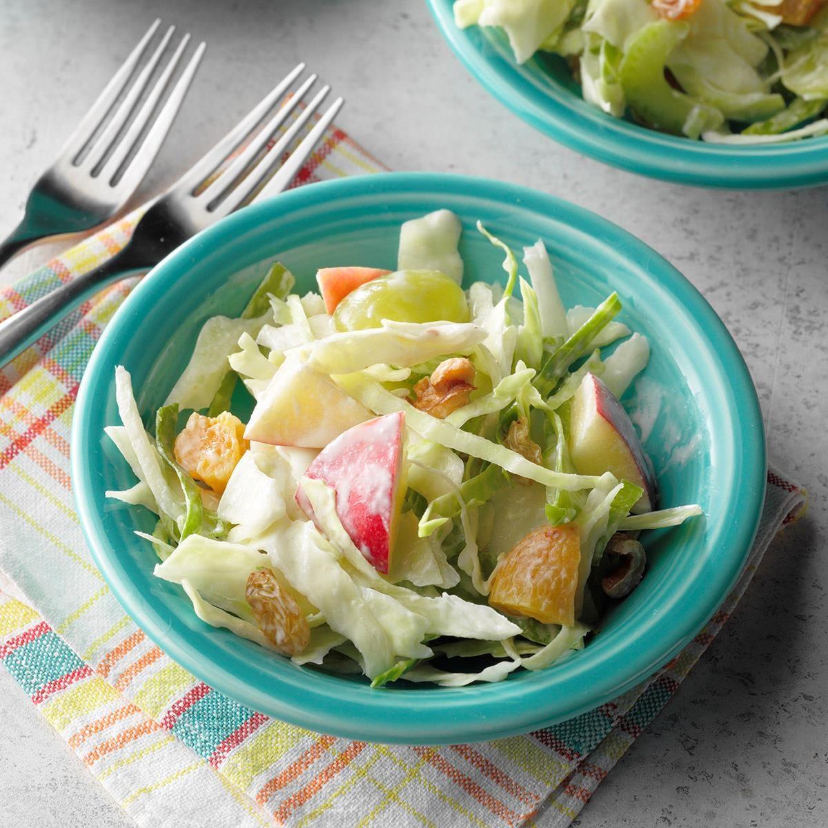 Coleslaw Waldorf Salad