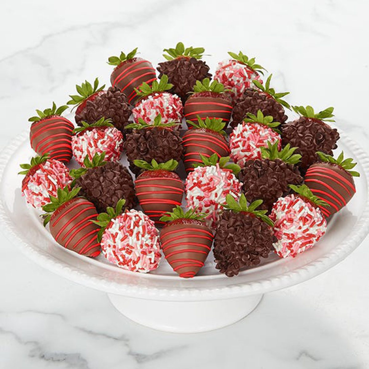 Gourmet Dipped Valentines Strawberries