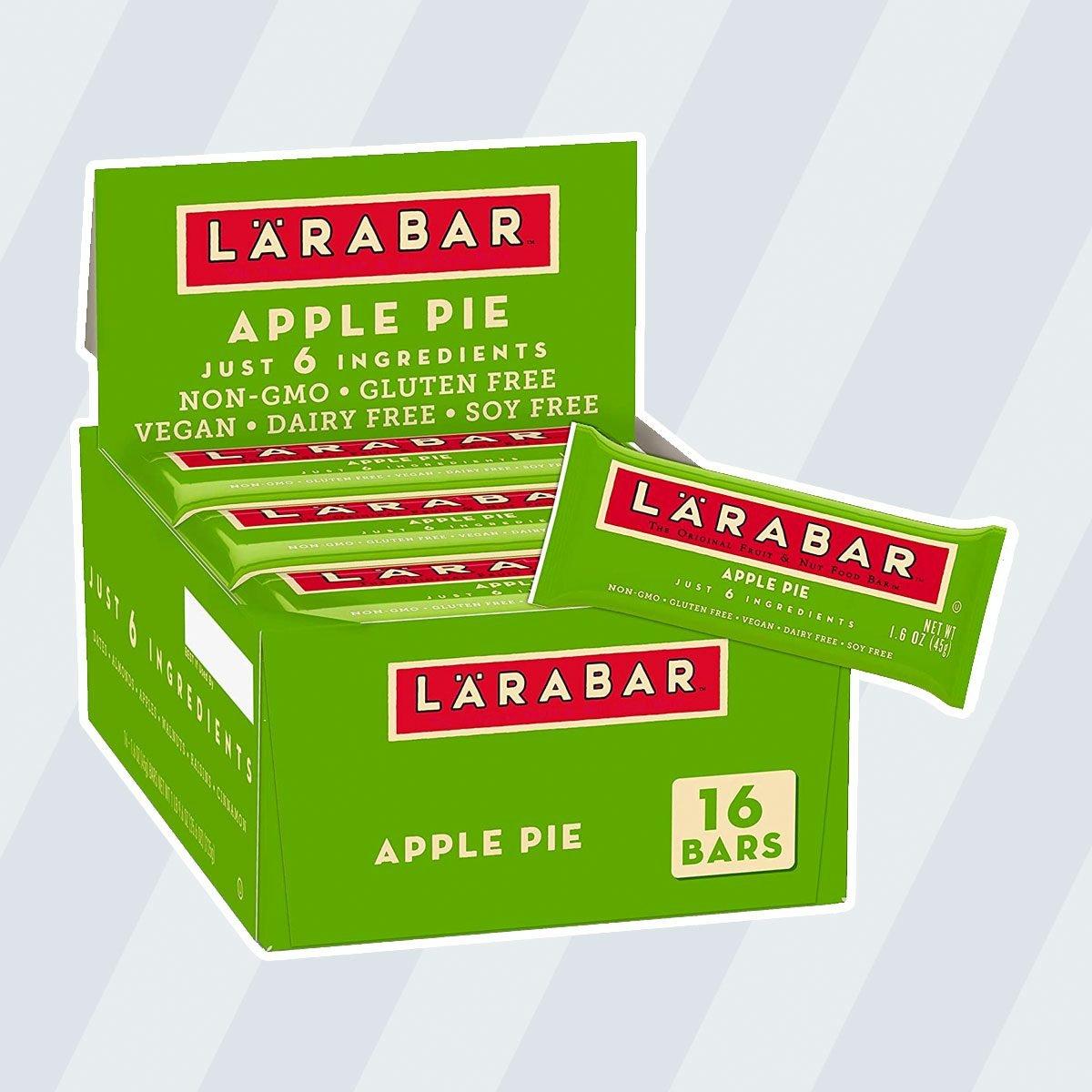 kosher snacks Larabar Gluten Free Bar, Apple Pie, 1.6 oz Bars (16 Count)