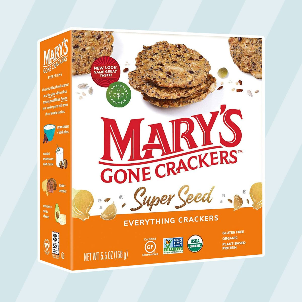 kosher snacks Mary's Gone Crackers Super Seed Crackers