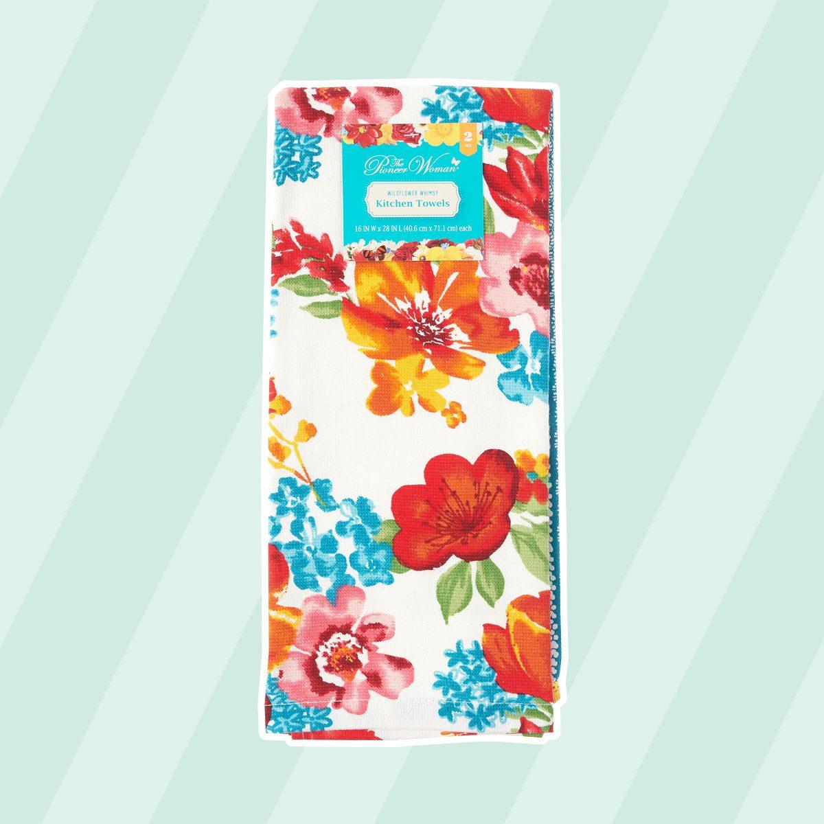 Pioneer Woman Wildflower Tea Towel