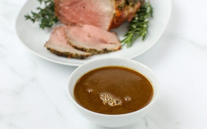 how to make au jus Roast Beef Au Jus Horizontal