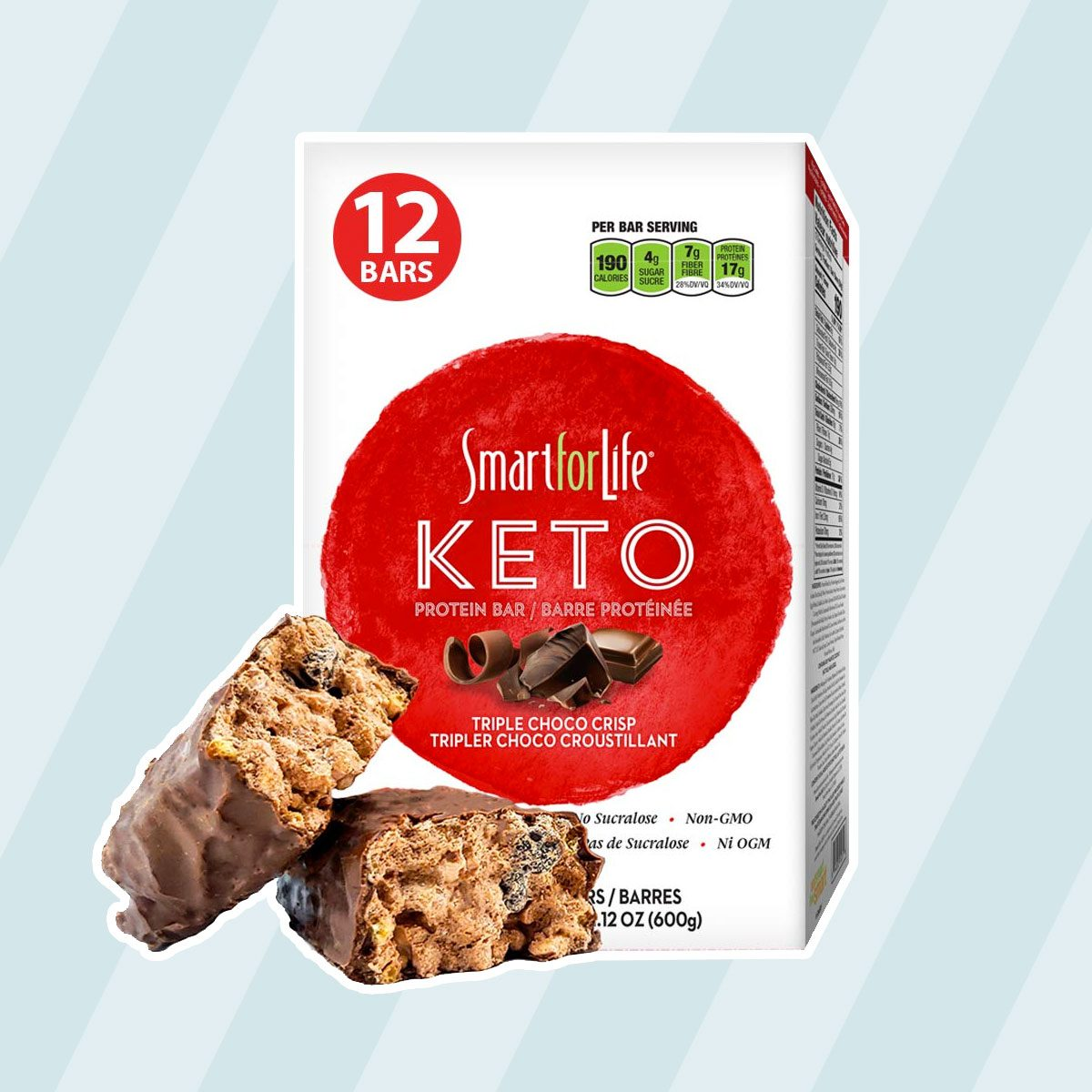 Smart for Life Keto Bars keto snack bars