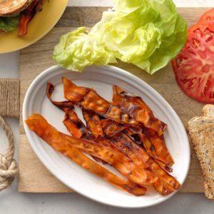 Smoky Vegan Bacon