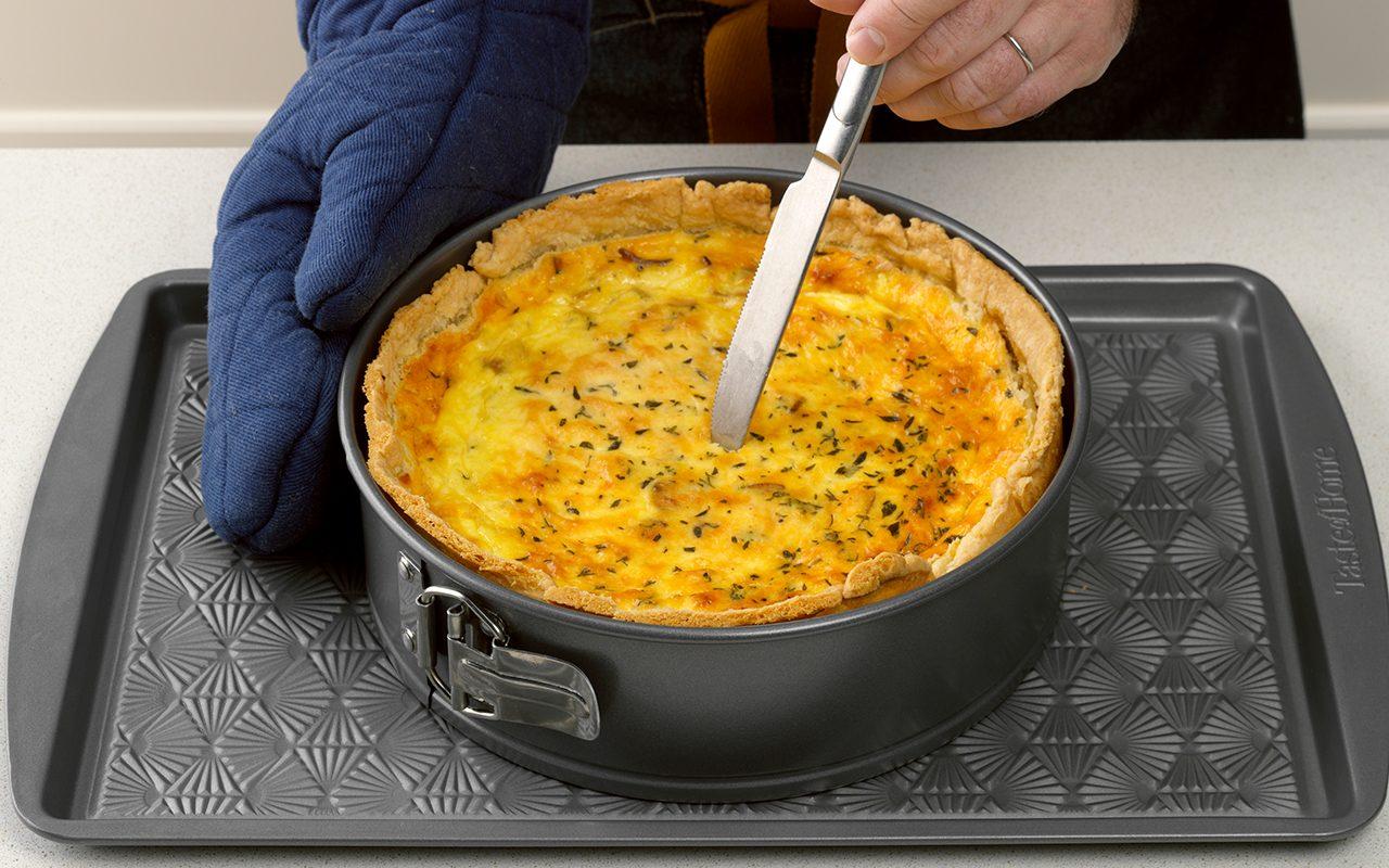 Bake how to make quiche lorraine
