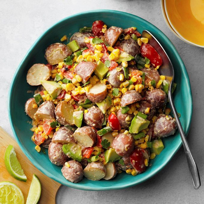 Tex Mex Potato Salad Exps Rcmz21 257444 E10 23 7b 2