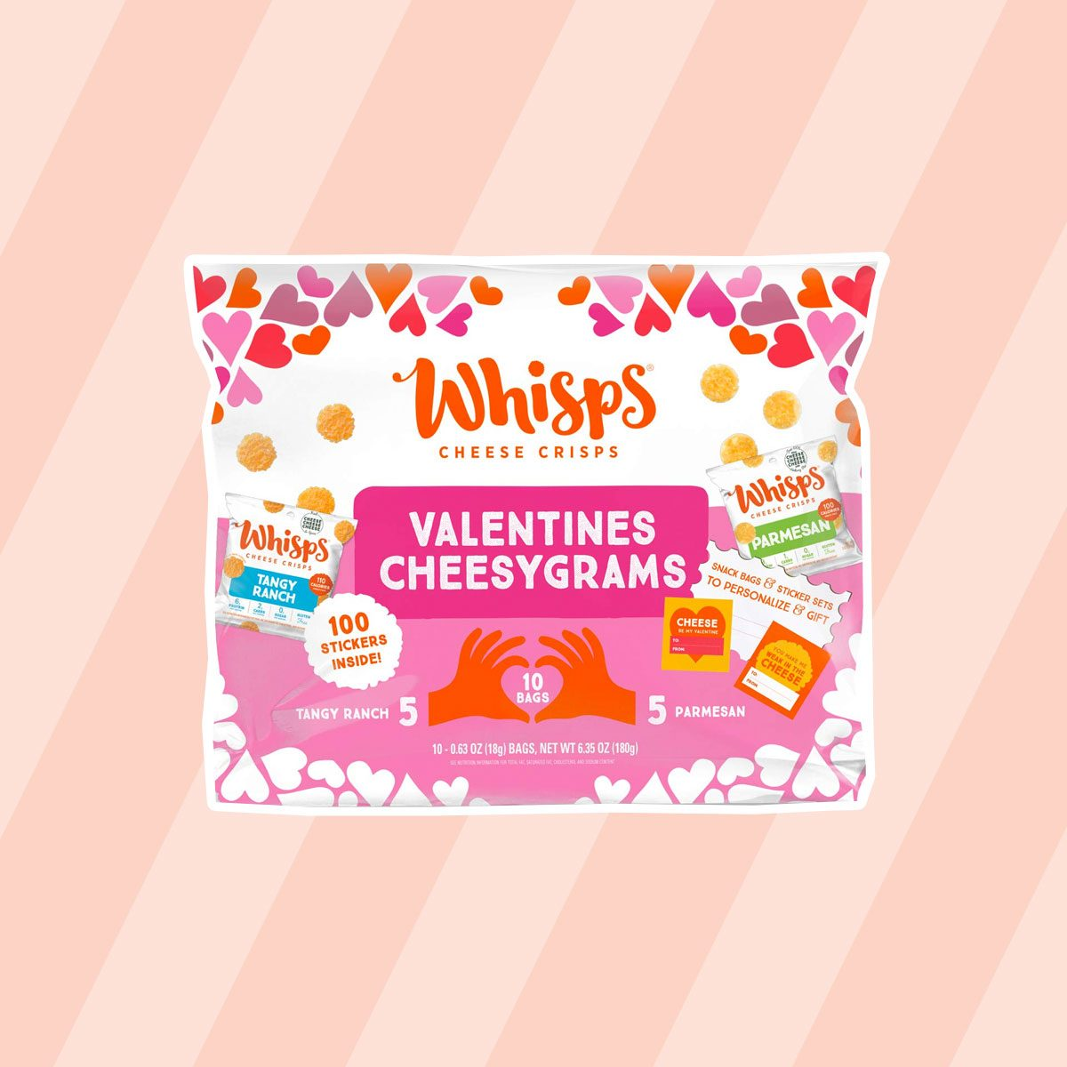 edible valentine's gifts Whisps Valentines Cheesygrams