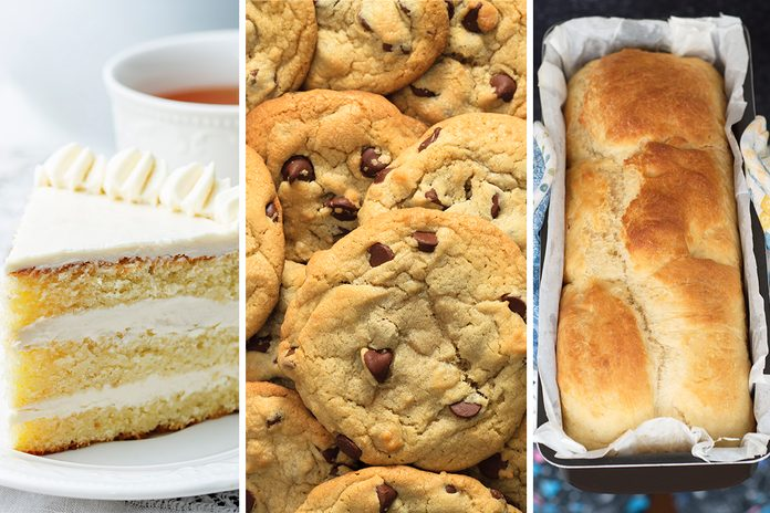 Cakie Breakie cake, cookie, and bread combos