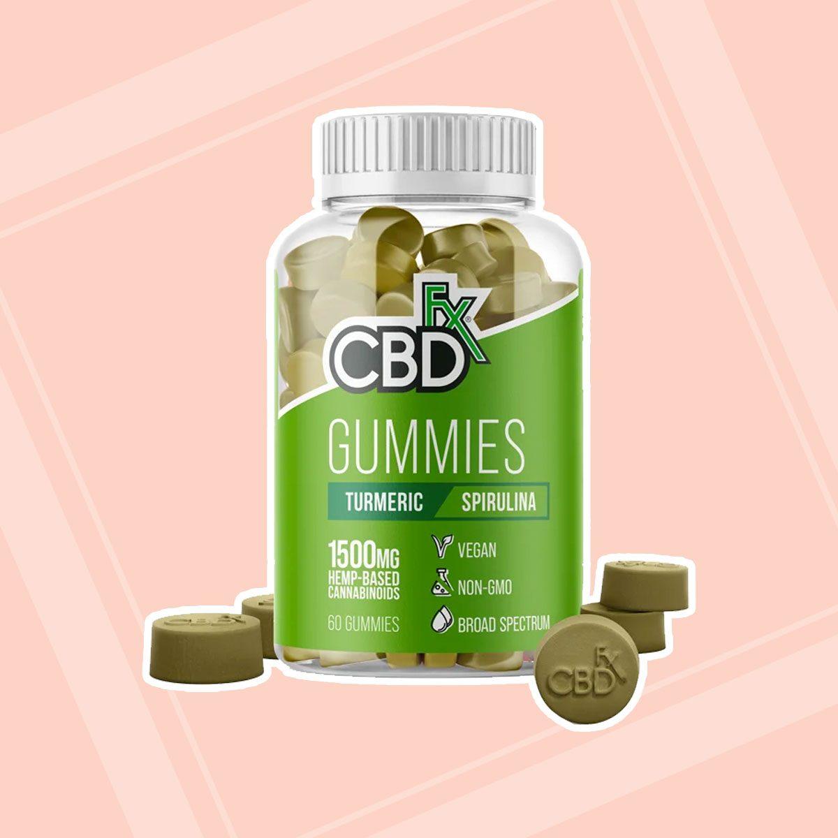 Cbdfx Gummies Turmeric And Spirulina