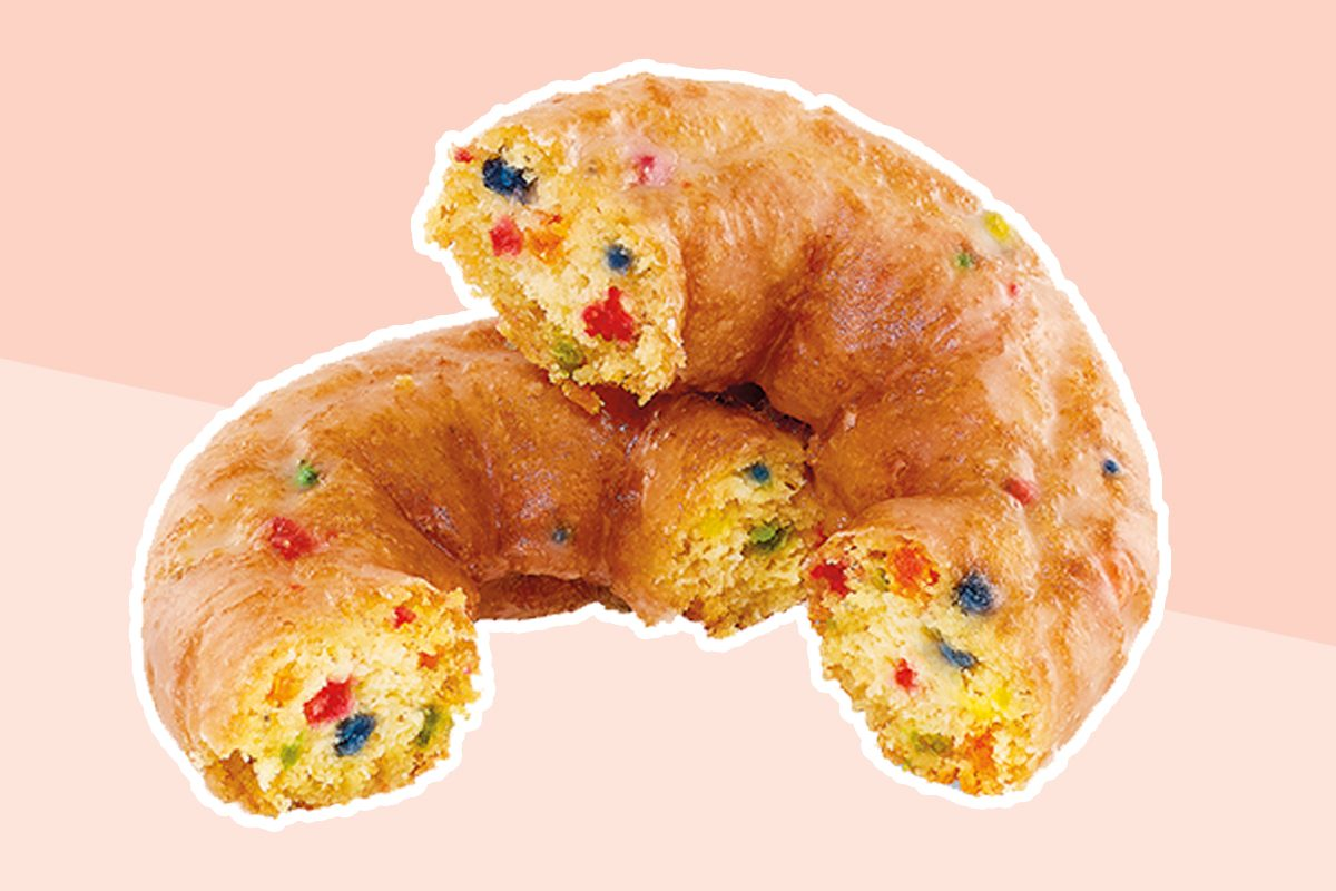 Dunkin' new Dunkfetti donut