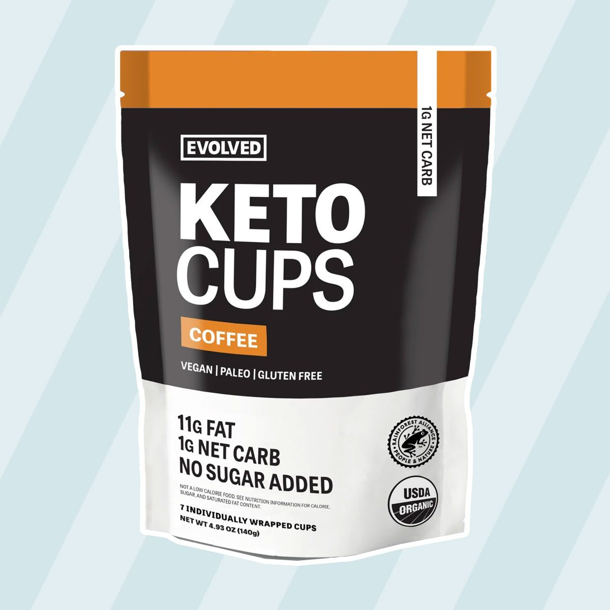 COFFEE KETO CUPS - 7 PACK
