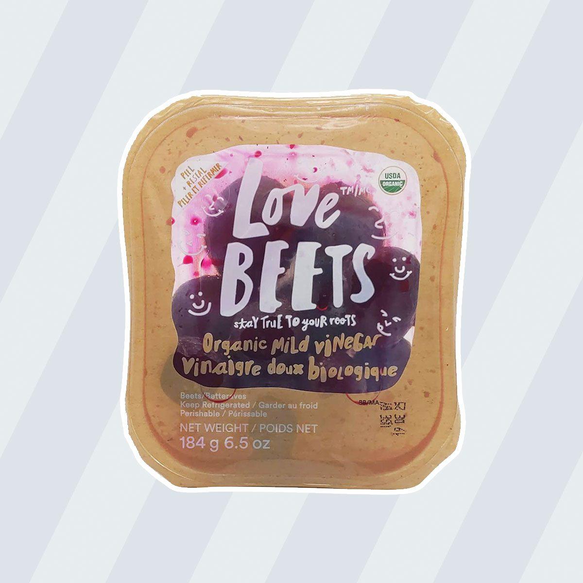 healthy snacks to buy Love Beets Organic Mild Vinegar Beets, 6.5 oz