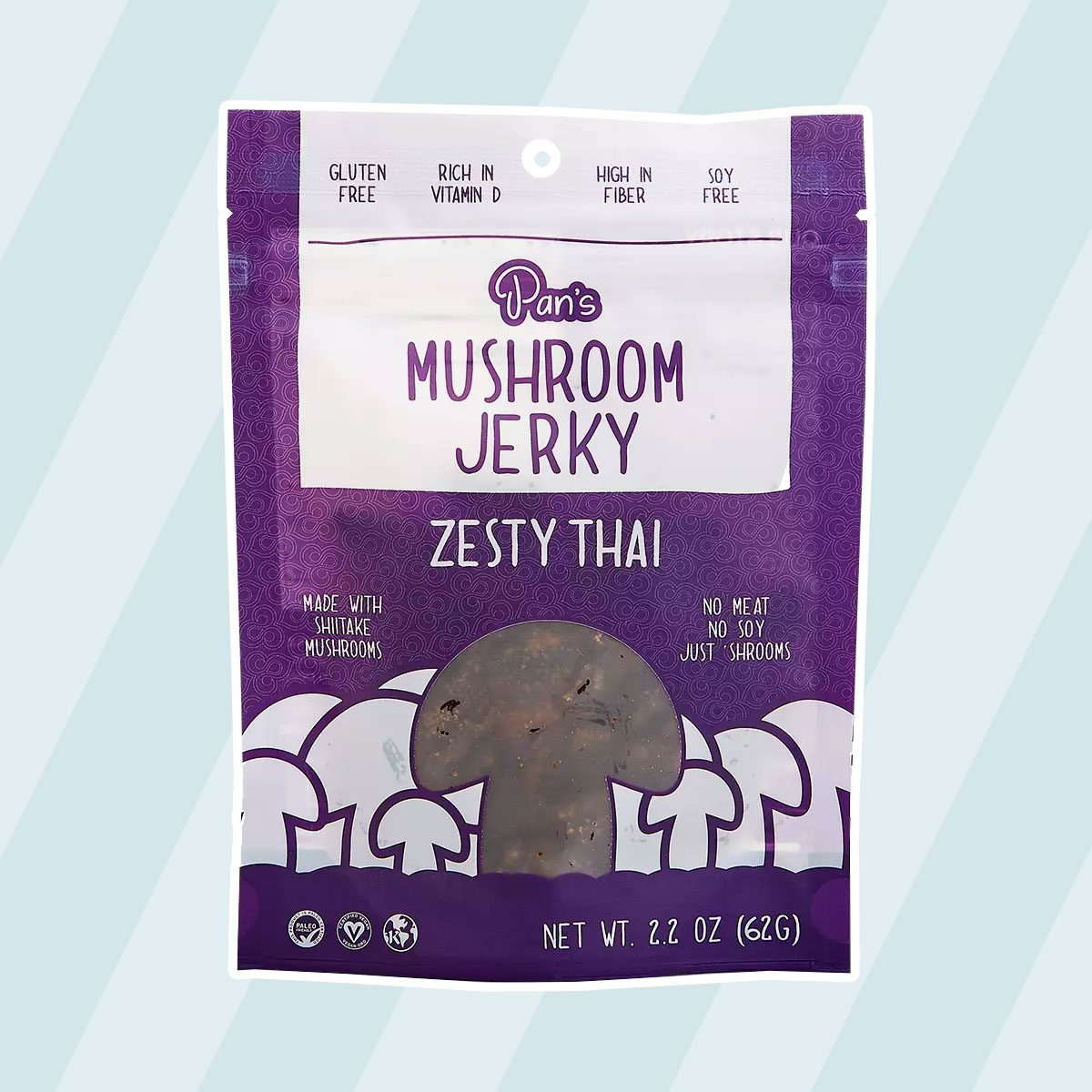 Zesty Thai Mushroom Jerky