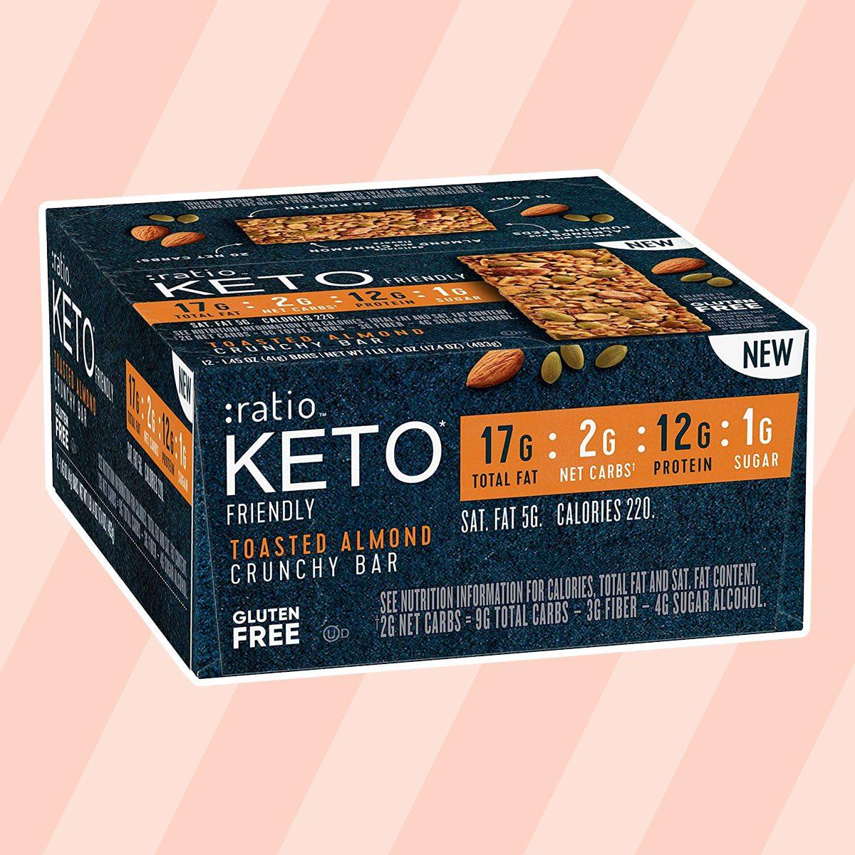 :ratio Keto-Friendly Bars keto snack bars