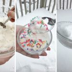 This Is How to Make Snow Ice Cream with Fresh Snow