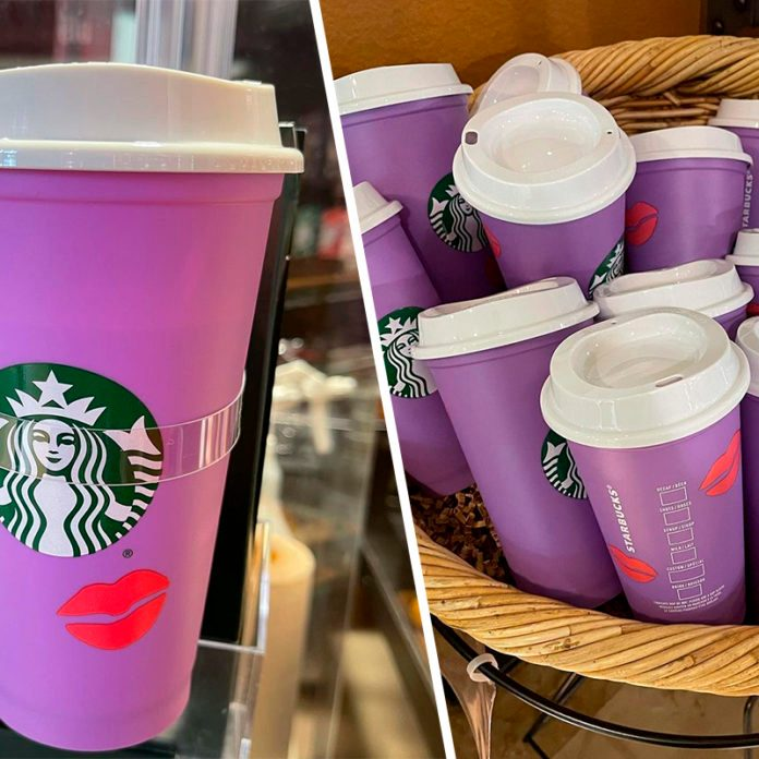 Starbucks Color changing Valentines Cups