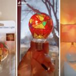 Target Is Selling Stained Glass Light Bulbs for Less Than $10, and They Are SO BEAUTIFUL
