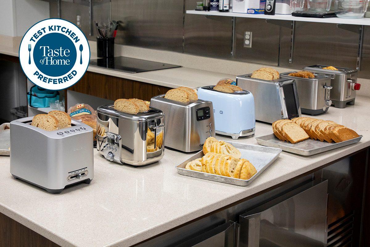 Test Kitchen Preferred the best Toaster TKP